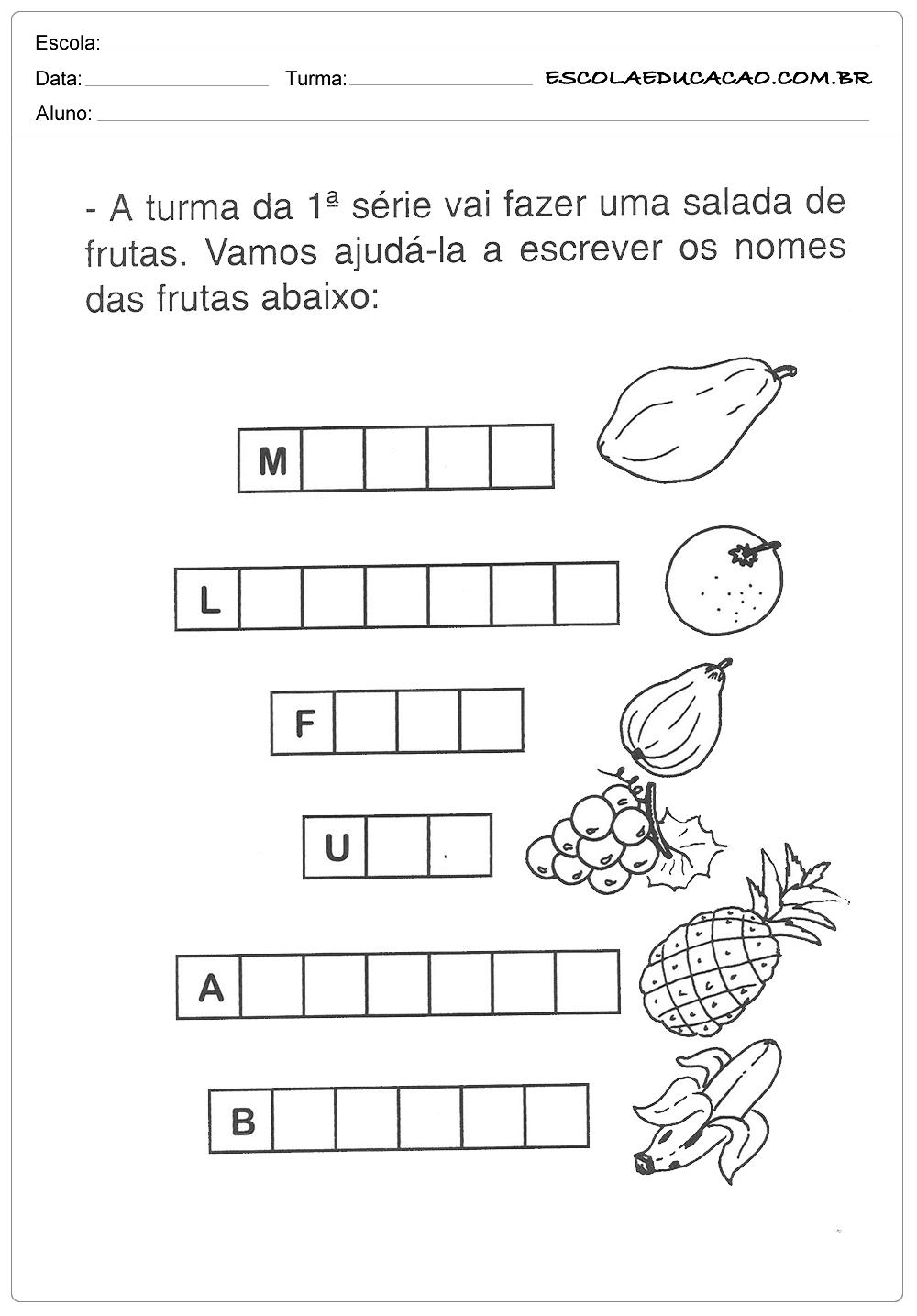 atividades-de-alimentacao-salada-de-fruta