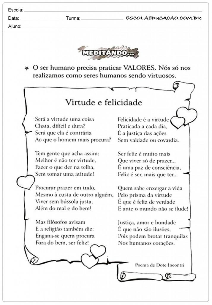 Well-known Atividades de Ensino Religioso 4º ano - Para Imprimir BE76