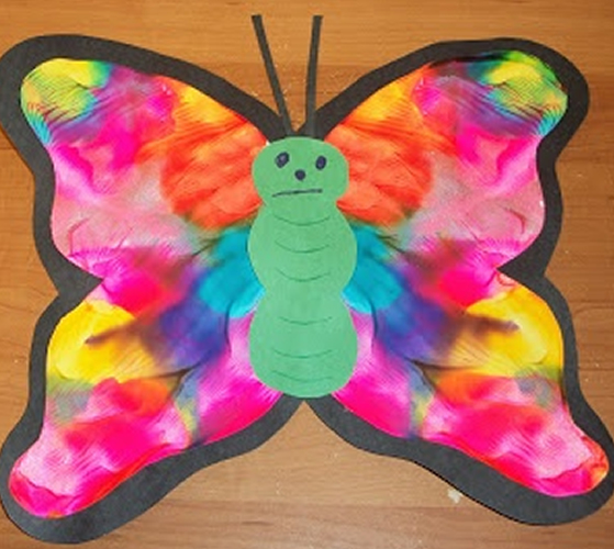 butterfly art and craft ideas atividades sobre a primavera para imprimir educa 231 227 o infantil 5966