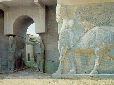 Cidade assíria de Nimrud