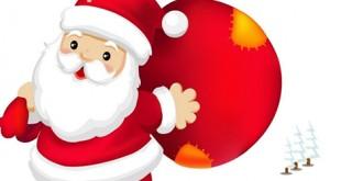 Desenhos para colorir de Papai Noel