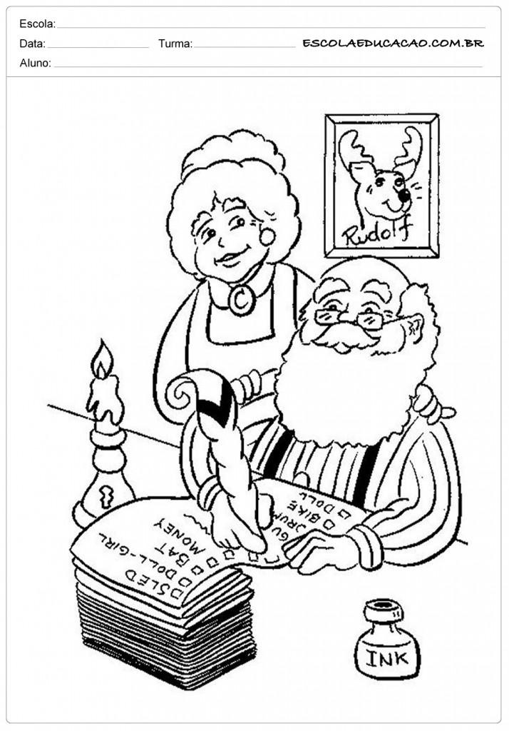 Mamãe e Papai Noel