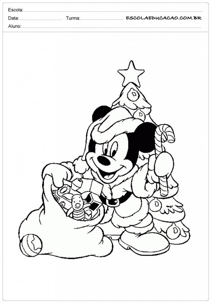 Mickey Papai Noel