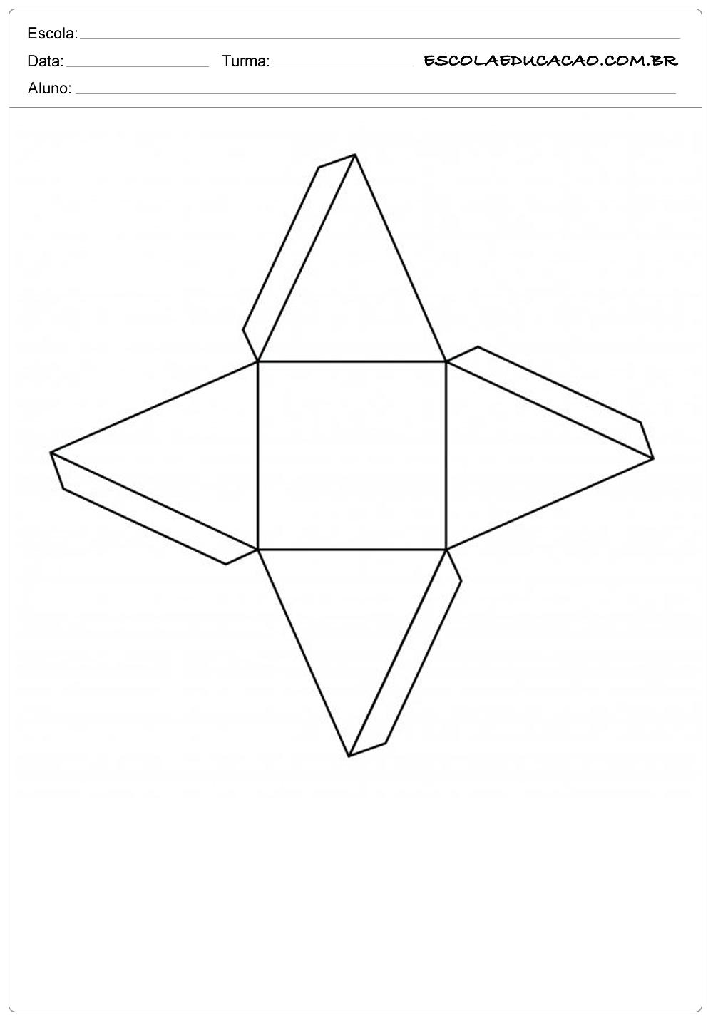 Triangulo – Moldes de Caixas de Papel