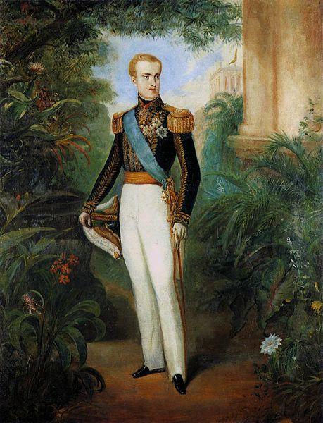 Pedro de Alcântara com 20 anos de idade