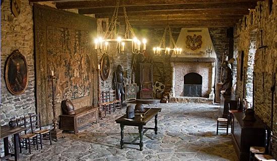 Castelo Medieval por dentro