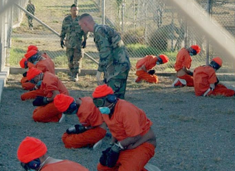 Prisioneiros na Prisão de Guantánamo