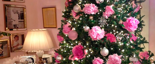 Árvore de Natal Floral