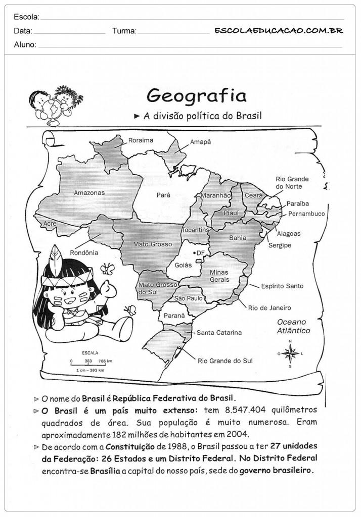 Divisão Politica do Brasil