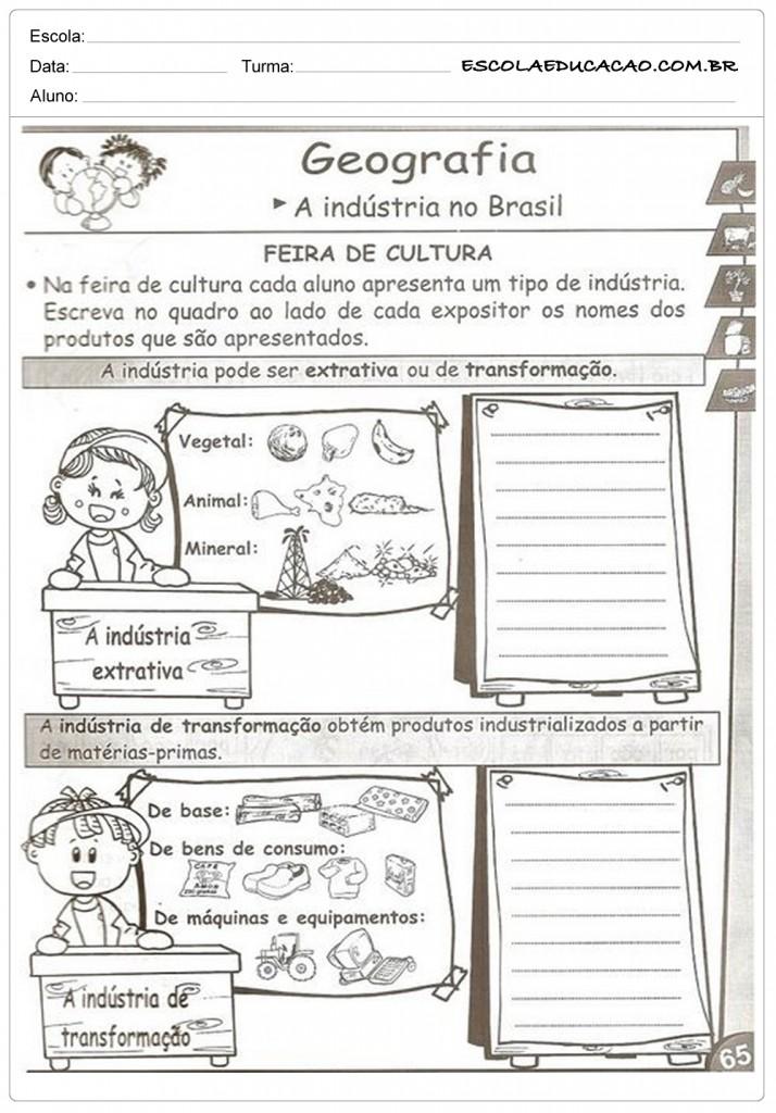 A Industria no Brasil