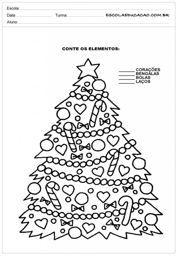 20 Atividades De Natal Para Imprimir Escola Educa O