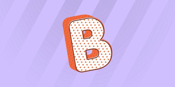 Atividades letra B