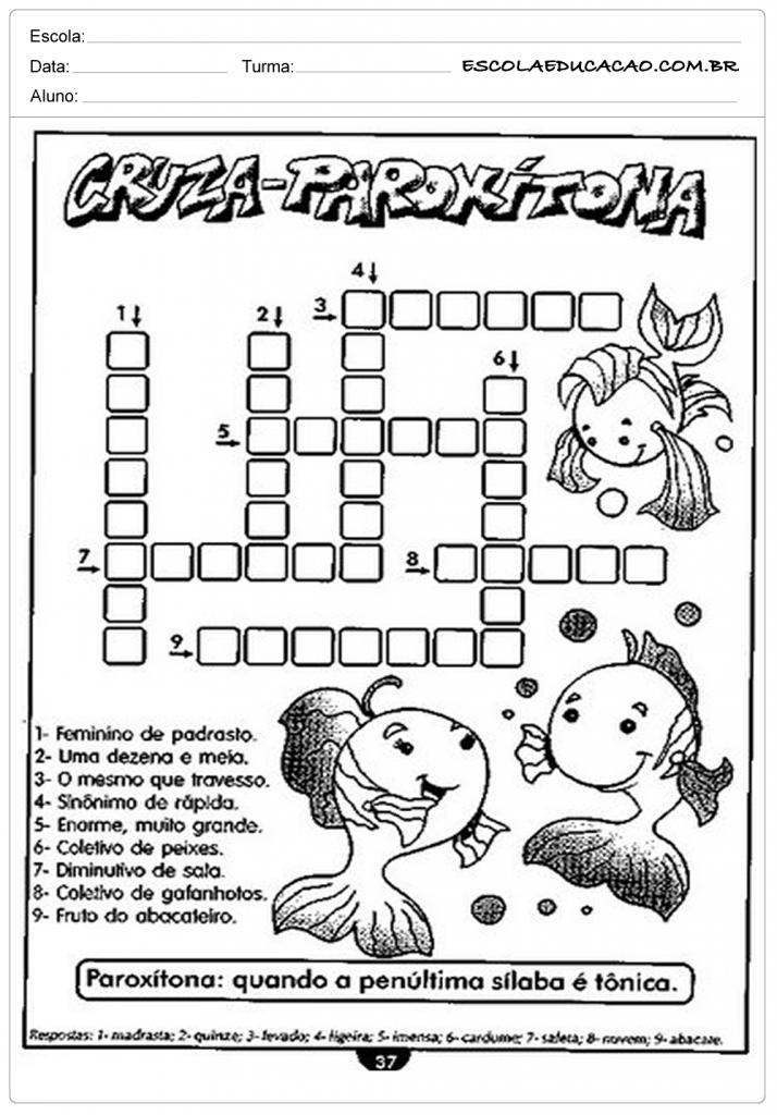 Cruza-Paroxítona
