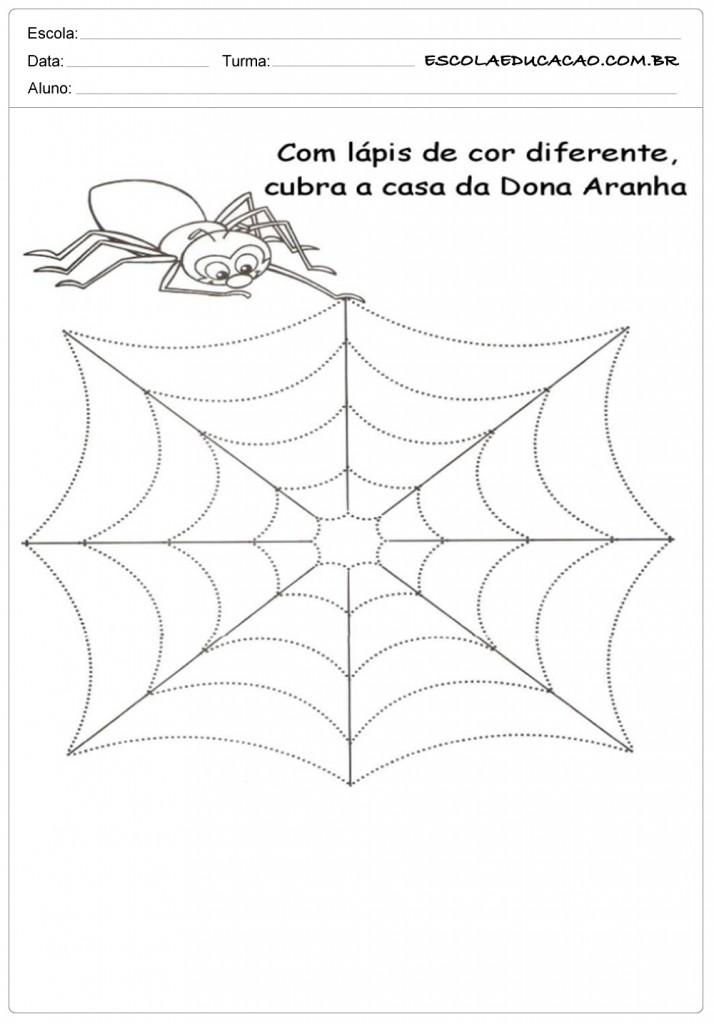 Cobrindo a Casa da Dona Aranha