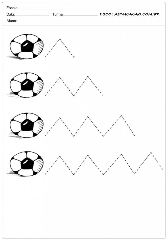 Complete as linhas