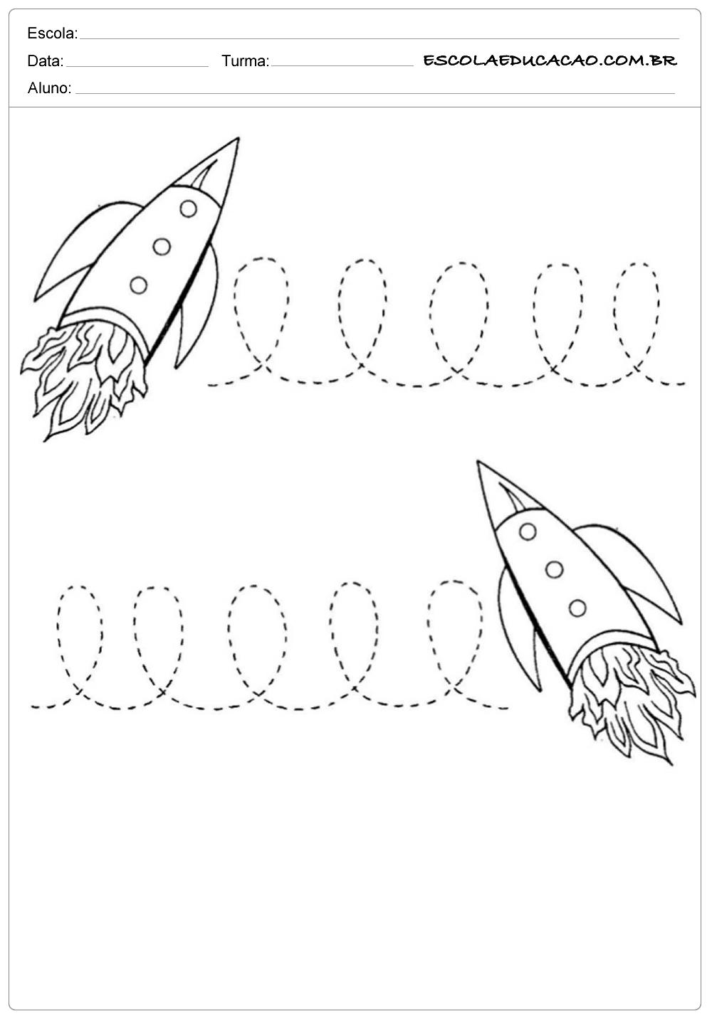 Coordenação Motora Direita e Esquerda – Foguete