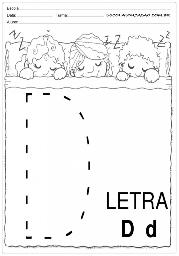 Coordenação Motora - Letra D