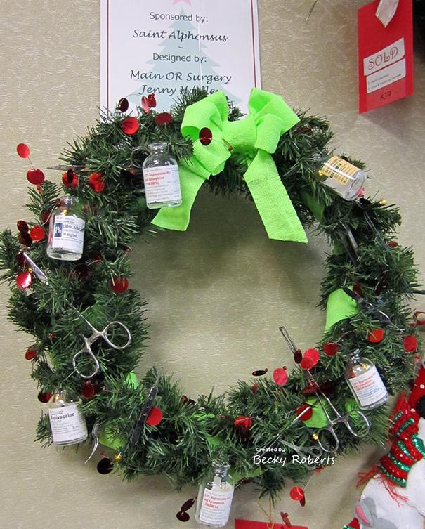 Decoração natalina para Hospitais