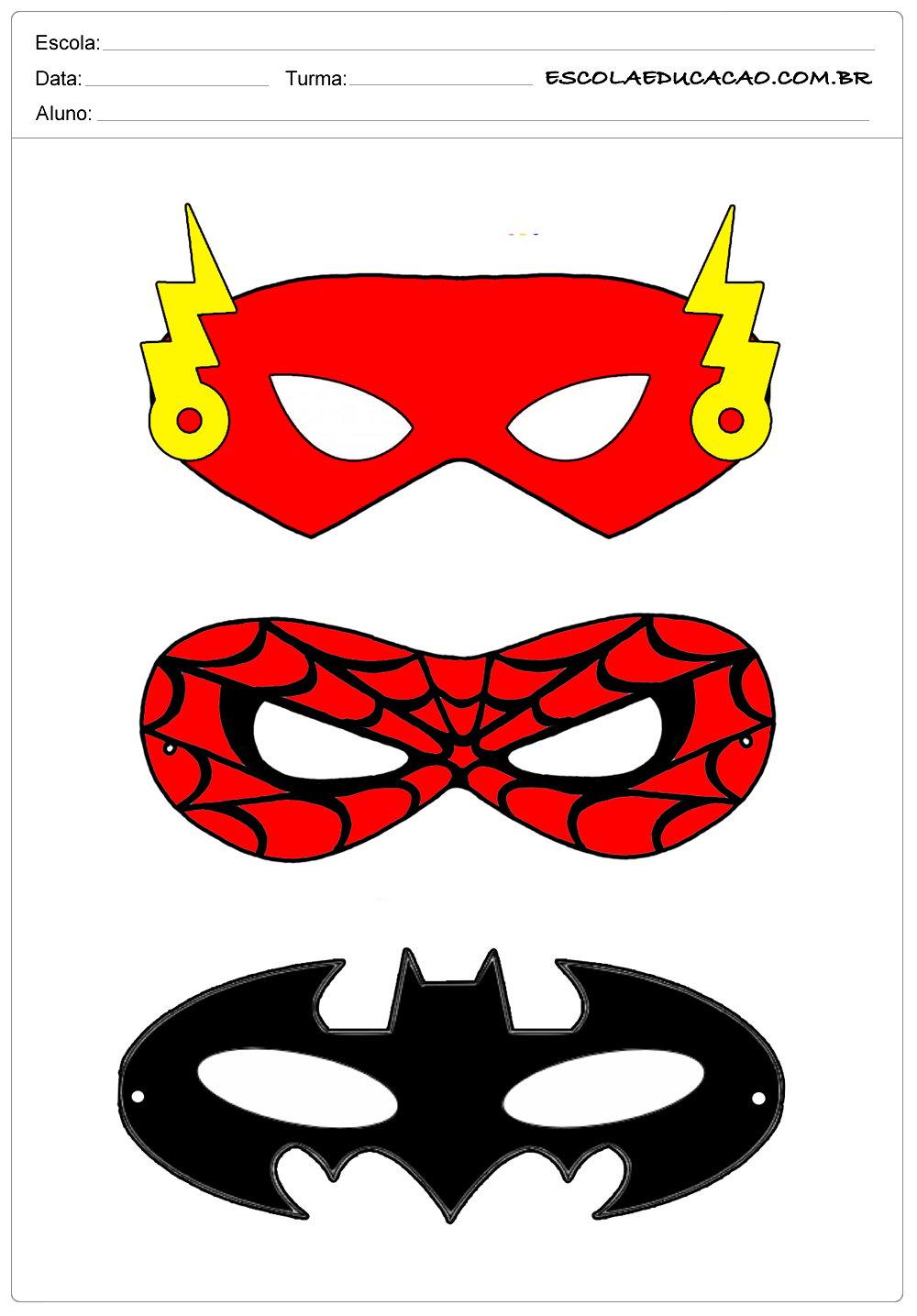 Máscaras Diversas