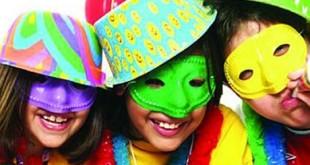 Máscara de Carnaval Coloridas