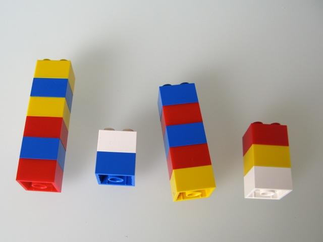 Média e Mediana com LEGOs