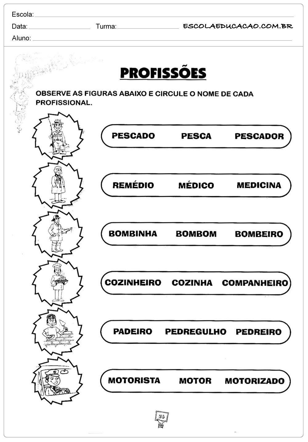 Profissões