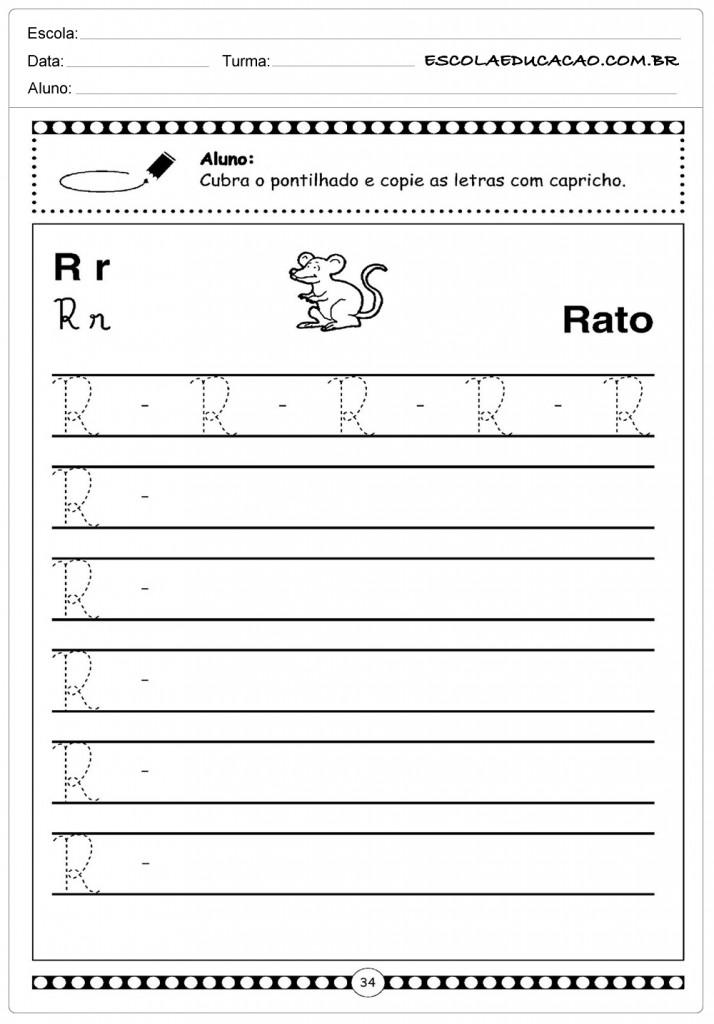 Alfabeto Cursivo - Rato