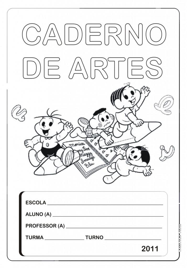 Capas De Caderno Para Imprimir Escola Educacao