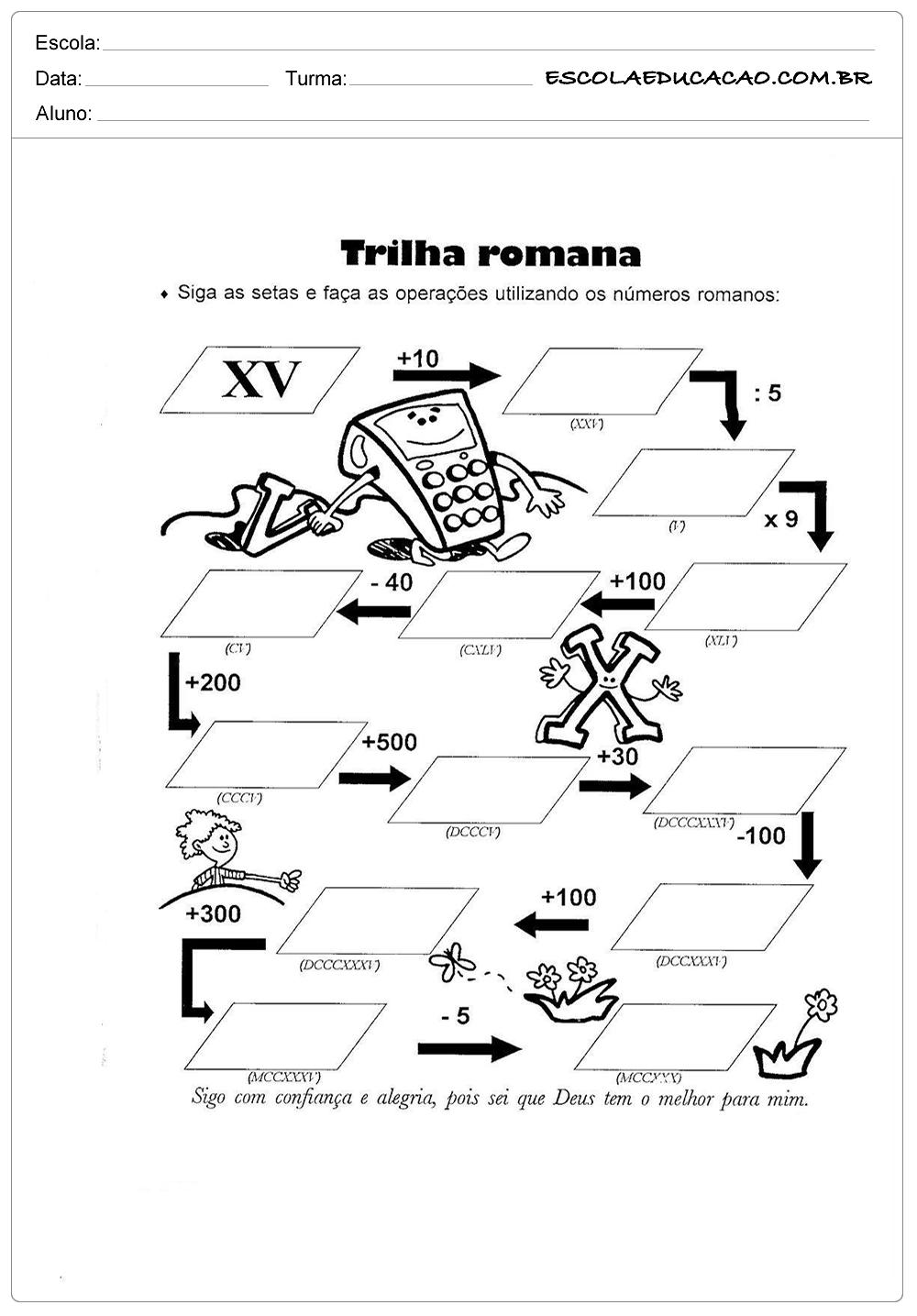 Trilha Romana