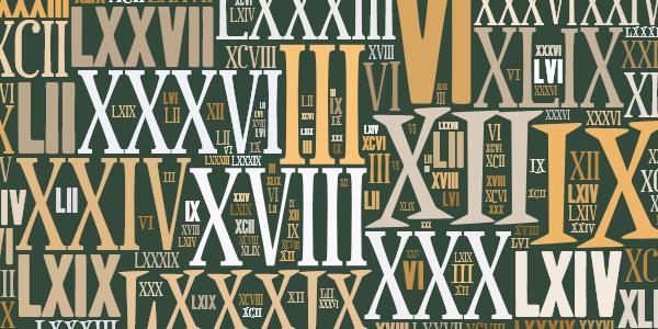 Atividades com Números Romanos