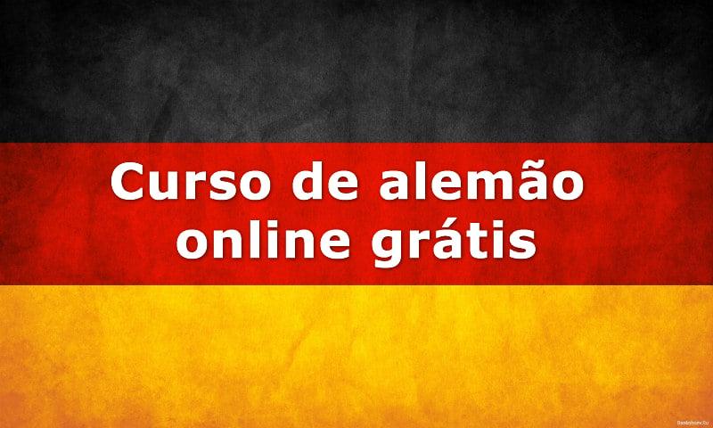 Curso De Alemão Online Grátis Escola Educação
