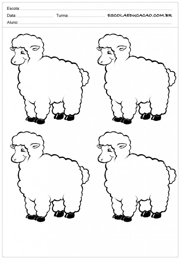 4 ovelhas alegres