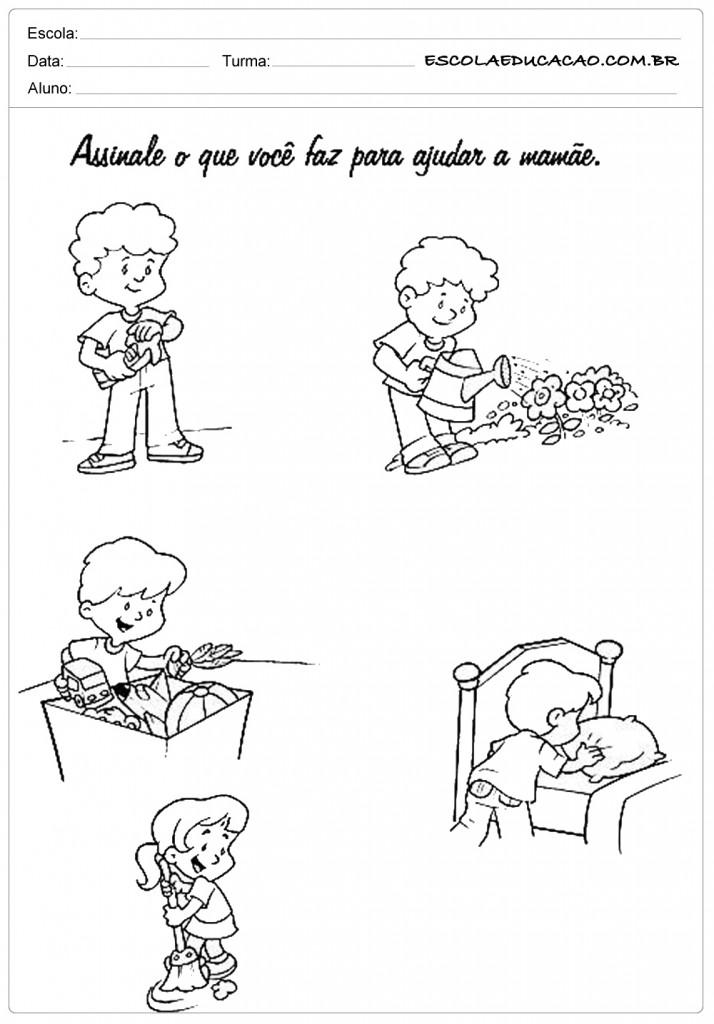 Ajudando a Mamãe