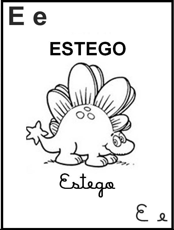Alfabeto Ilustrado Turma da Mônica - Letra E