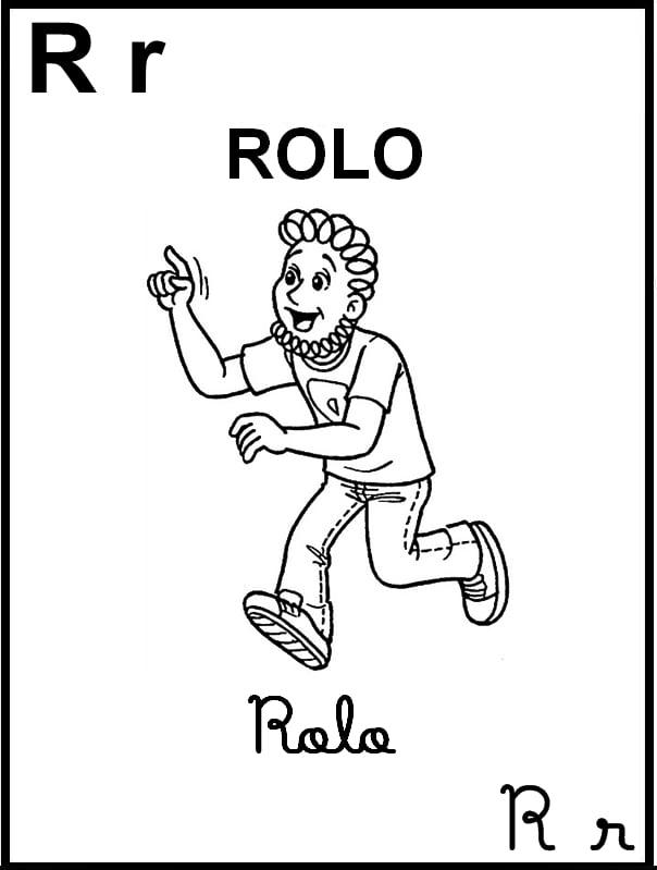 Alfabeto Ilustrado Turma da Mônica - Letra R