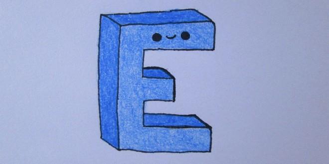 Atividades com a letra E para imprimir