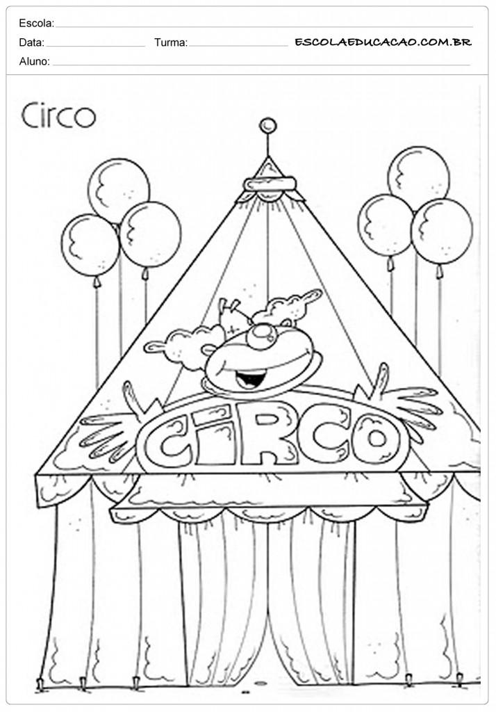 Atividades dia do Circo - Palhacinho