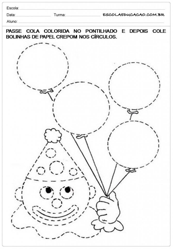 Fabuloso Atividades de Artes para Educação Infantil - Escola Educação MB52