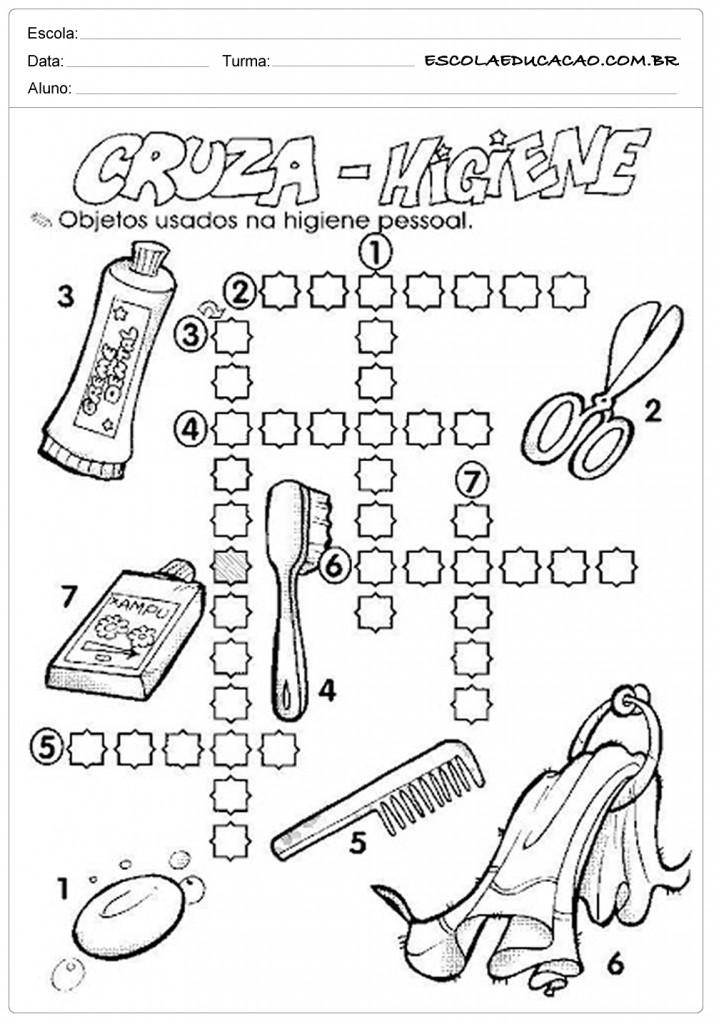 Atividades Higiene Corporal - Cruza Higiene
