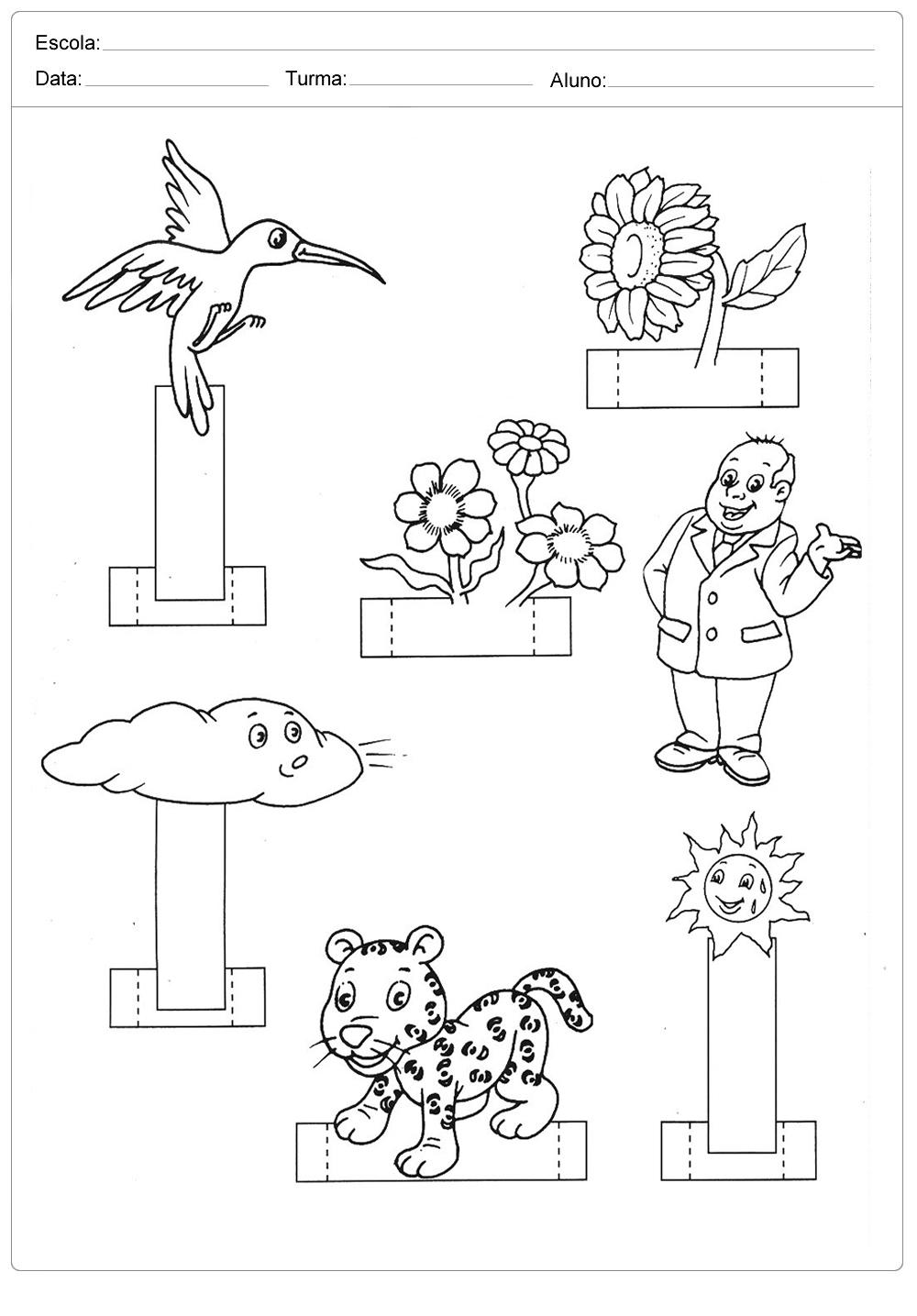 Atividades sobre meio ambiente para educação infantil – Monte uma maquete