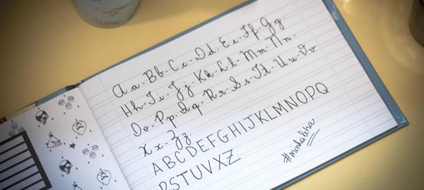 Caderno de Caligrafia para imprimir