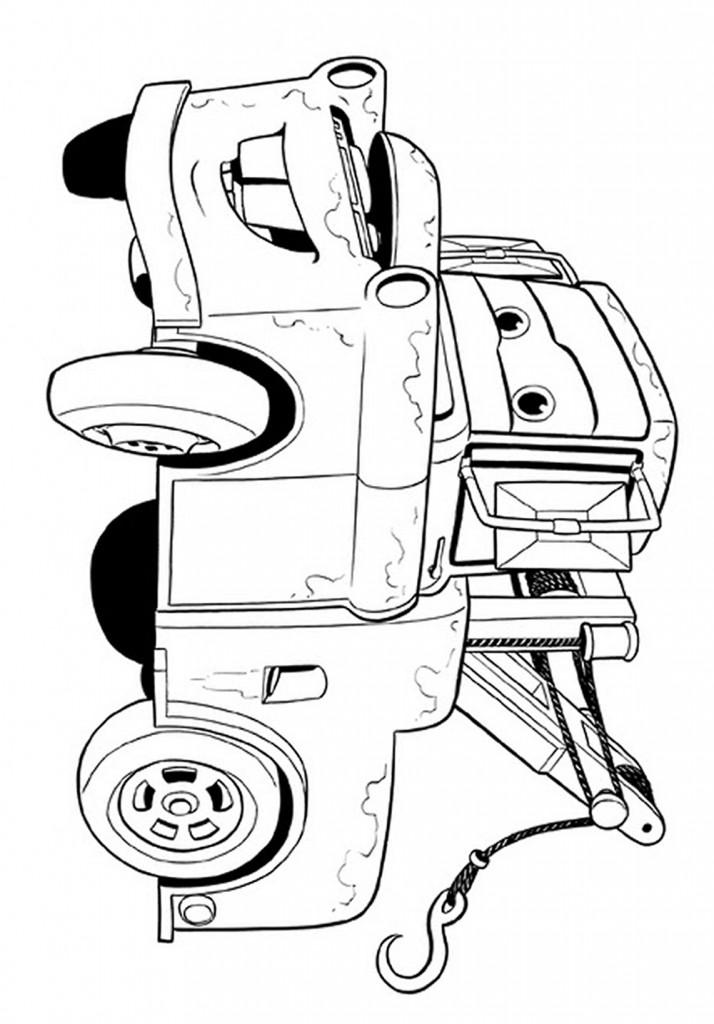 Desenhos de Pintar Imprimir e Colorir | Desenhos de Carros