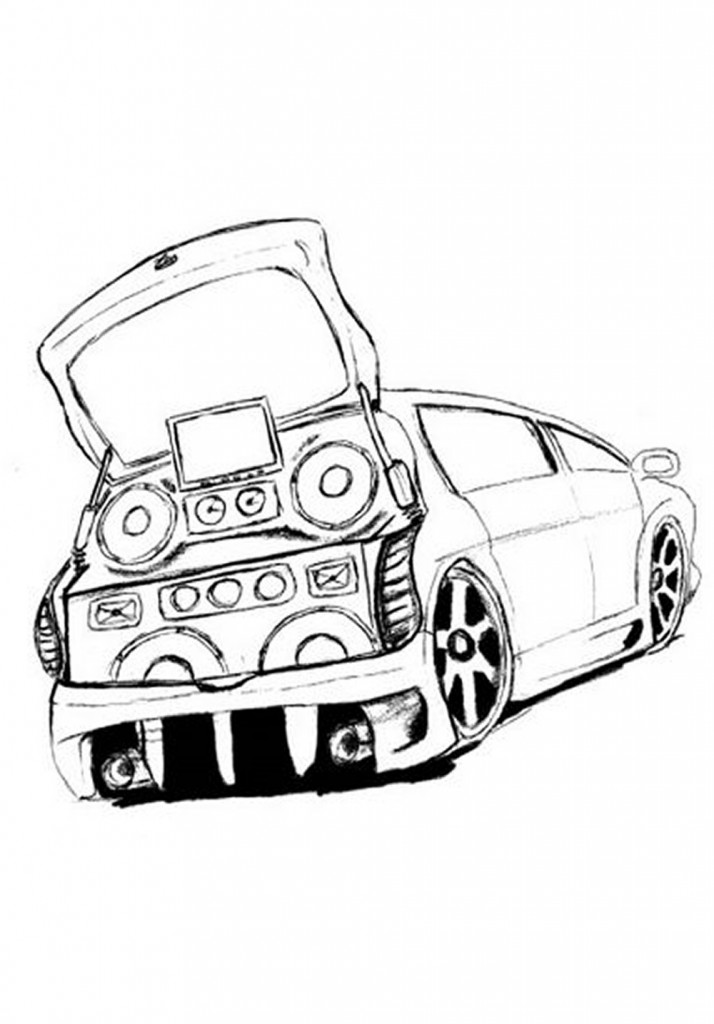 Atividades Desenhos De Carros Para Colorir E Imprimir