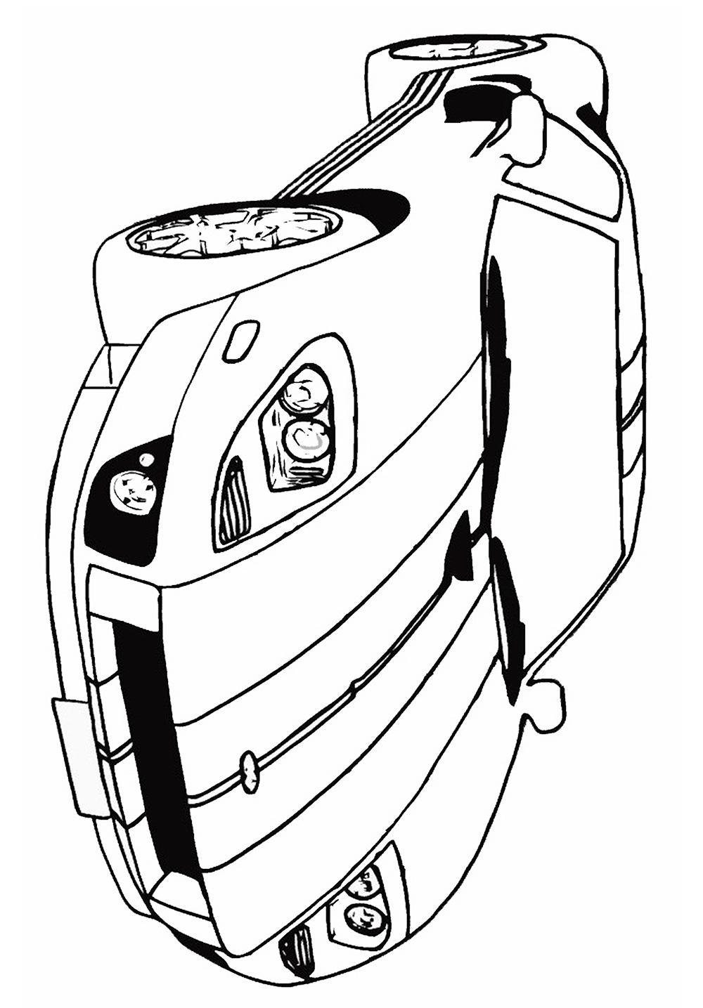 b0225b0a0ca desenhos-de-carros-para-colorir-ferrari - Escola Educação