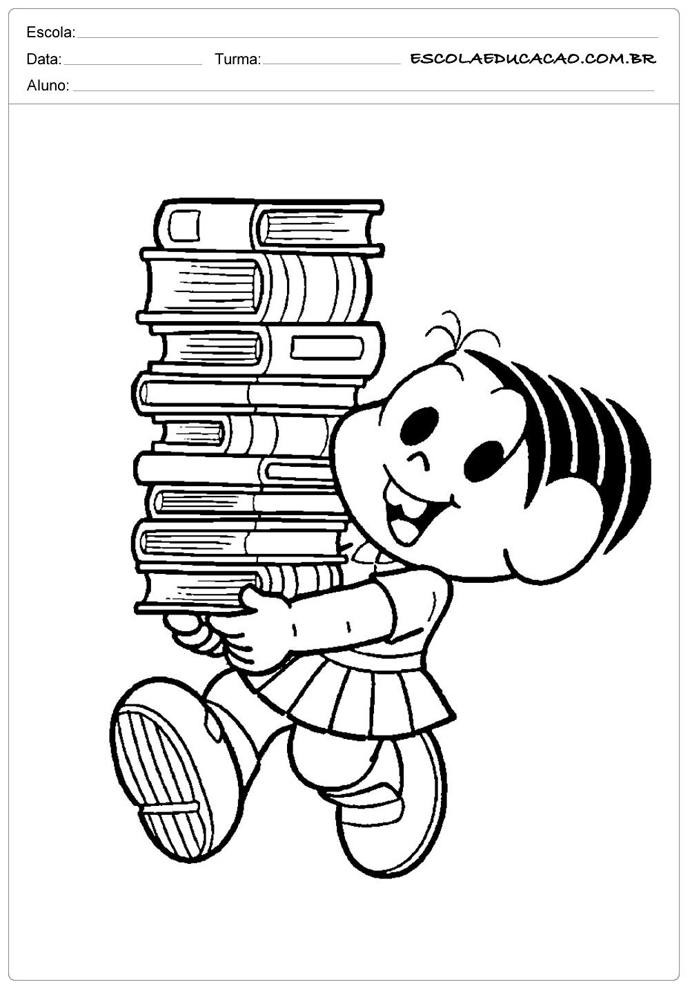 Mônica e os Livros