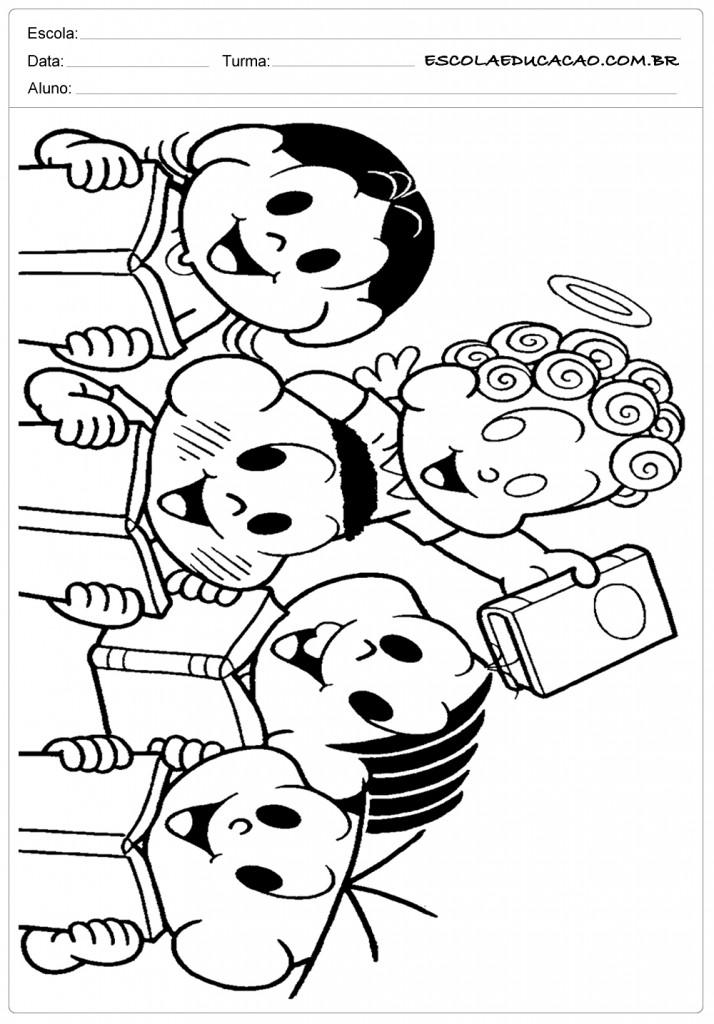 Desenhos Para Colorir Dia Do Livro Para Imprimir