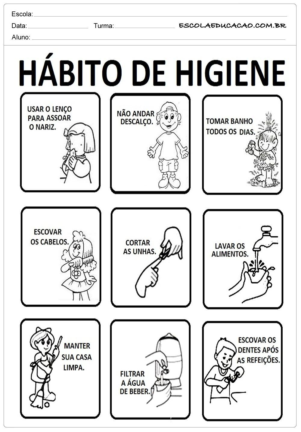 Dia da Saúde – Cuidados com a Higiene