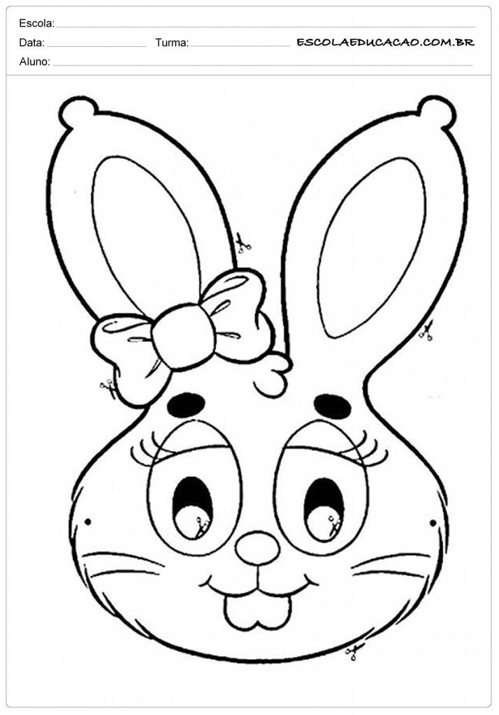 Máscara Coelha com Lanço