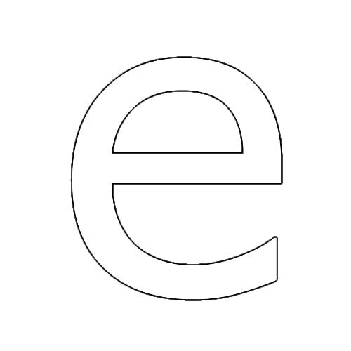 Letra C Y O Decorativa