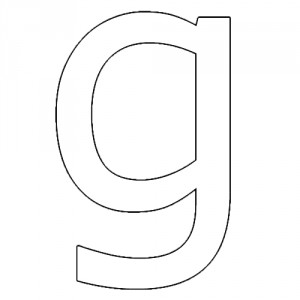 Molde de Letras - Para Imprimir - Modelo de Letras